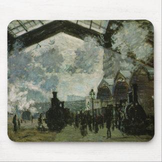 Heiliges Lazare Station durch Claude Monet Mousepads