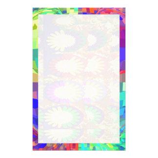 Heiliges lila KRISTALLSet-Kontrast-Muster Individuelle Druckpapiere