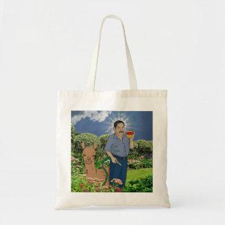 Heiliges Luis im Garten Tragetasche