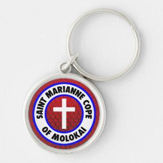 Heiliges Marianne werden von Molokai fertig Schlüsselanhänger