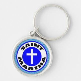 Heiliges Martha Schlüsselanhänger