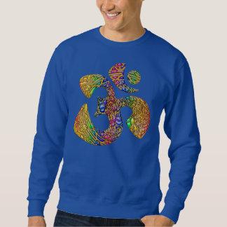 Heiliges OM - Verzierungsgold gefärbt Sweatshirt