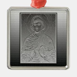 Heiliges Paraskeva [Sveta Petka] Silbernes Ornament