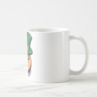 Heiliges Patricks Goldschatz Kaffeetasse