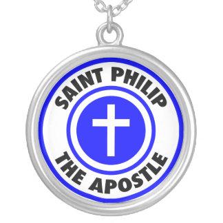 Heiliges Philip der Apostel Versilberte Kette