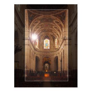 Heiliges Roch Franzose-Kirche Postkarte