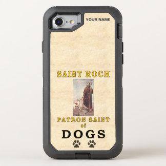 HEILIGES ROCH (Schutzpatron der Hunde) OtterBox Defender iPhone 8/7 Hülle