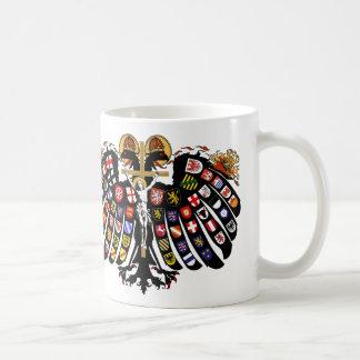 Heiliges römisches Reich-Wappen Kaffeetasse