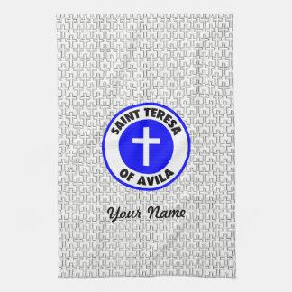 Heiliges Teresa von Avila Küchentuch