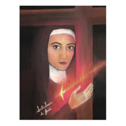 Heiliges Teresa von Jesus Postkarten