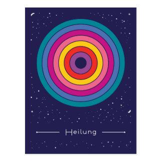 Heilung Postkarte