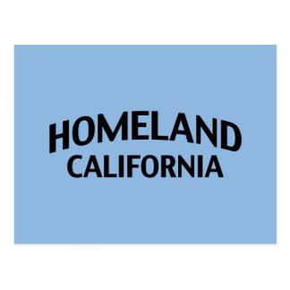 Heimat Kalifornien Postkarte