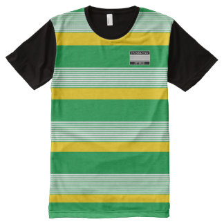 Heimat-Kleidung Designer#4 Jamaika färbt Shirt