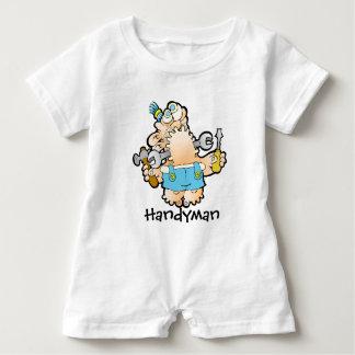 Heimwerker-Baby-Spielanzug Baby Strampler