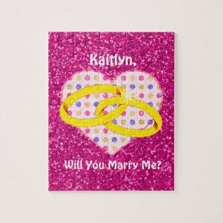 Heirat-Antrag | heiraten Sie mich? Puzzle