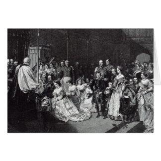 Heirat der Kronprinzessin Karte