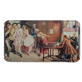 Heirat in Flotten-Straße, 1898 (Öl auf Leinwand) iPod Touch Case
