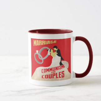 Heirat: Kommunismus für Paare Tasse