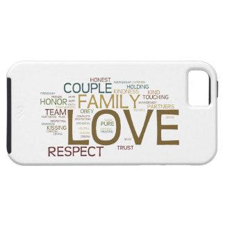 Heirat-Wort-Wolke iPhone 5 Schutzhülle