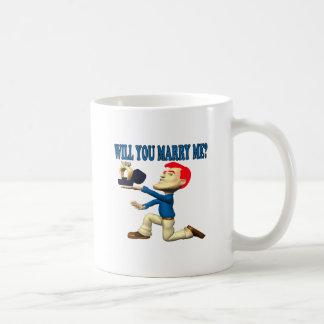 Heiraten Sie mich 12 Kaffeetasse