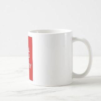 Heiraten Sie mich bitte (Rot) Kaffeetasse