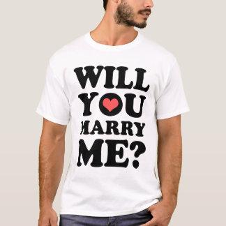 Heiraten Sie mich heller T - Shirt