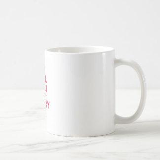 Heiraten Sie mich rot auf Weiß Kaffeetasse