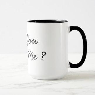 heiraten Sie mich Schalen-Tassenantrag Tasse