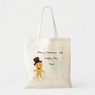 heiraten Sie Weihnachtslebkuchen Taschentaschen Tragetasche