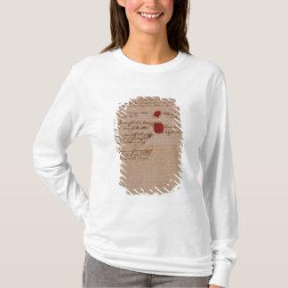 Heiratsurkunde von Wolfgang, von Mozart und von T-Shirt