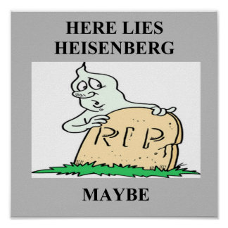 heisenberg Ungewissheitsprinzipwitz Posterdrucke