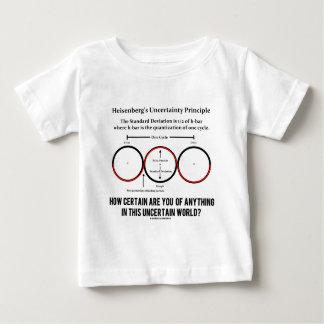 Heisenbergs Ungewissheits-Prinzip-Physik-Spaß Baby T-shirt