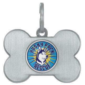 Heisere Satz-Rettungs-Logo-Einzelteile Tiermarke