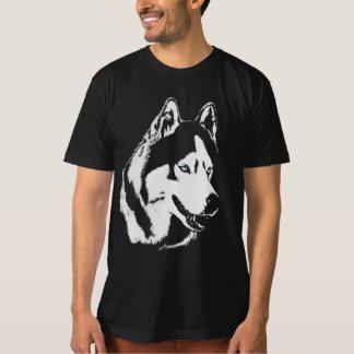 Heiserer T - Shirt-heisere Schlitten-HundeBio T-Shirt
