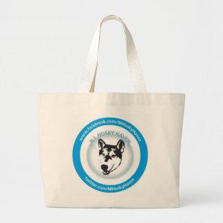 Heiseres Hafen-Logo-große Taschen-Tasche Ni Jumbo Stoffbeutel