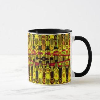 Heiß trotten golden tasse