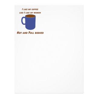 Heiß u. schwer! Kaffee mögen Frauen-T-Shirts u. -g Flyer
