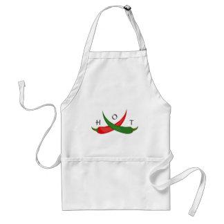 Heiße Chili-Pfeffer-Schürze