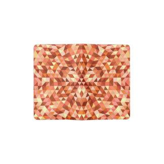 Heiße Dreieck-Mandala Moleskine Taschennotizbuch