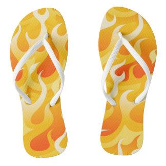 Heiße Flammen Flip Flops