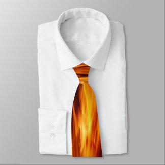 Heiße Flammen-Krawatte Bedruckte Krawatten