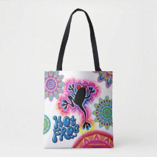 Heiße Frosch-Brandungs-psychedelische Tasche