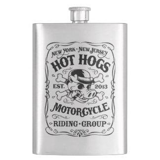 Heiße Hogs™ Klassiker-Flasche Flachmann