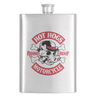 Heiße Hogs™ klassische Rocker-Flasche Flachmann