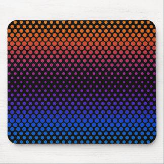 Heiße kalte verblassende Halbtonbilder Mousepad