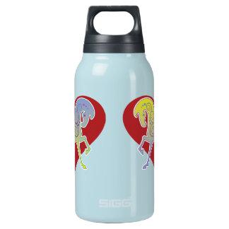 Heiße/kalte Wtr Flasche Nerz-Tasse Runequine