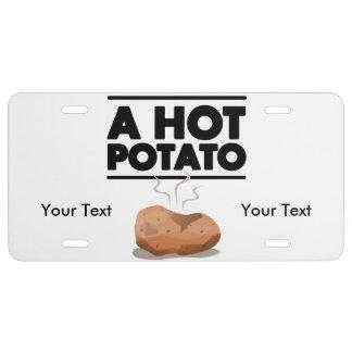 Heiße Kartoffel US Nummernschild