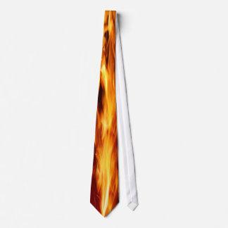 Heiße Krawatte der Flammen-(1 Seite)