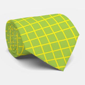 Heiße Limone Fliesen mit Gelb Krawatte