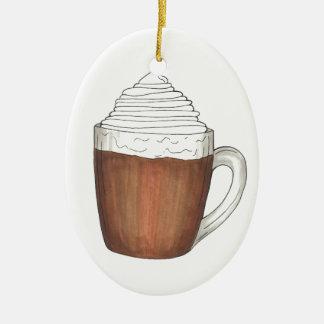 Heiße Ovales Keramik Ornament